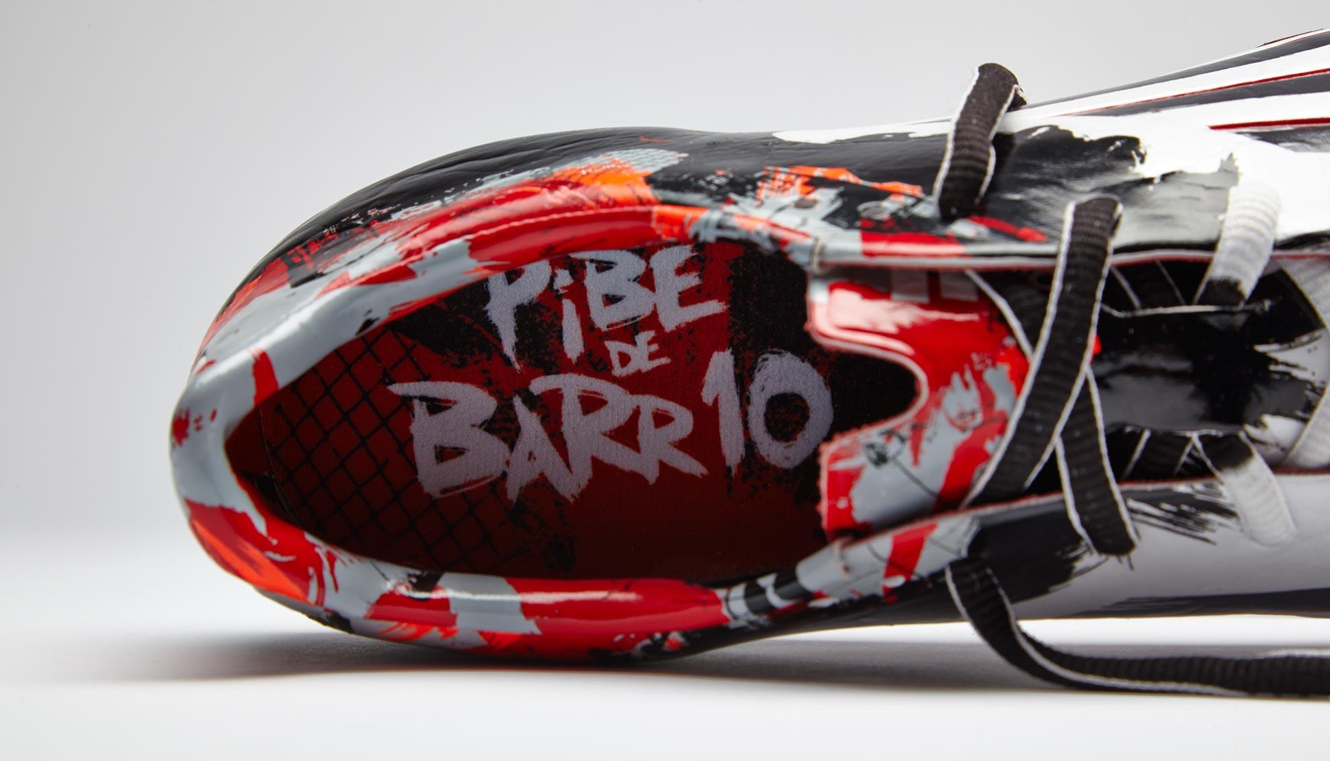 Бутсы Adidas F50 Adizero Pibe de Barr10