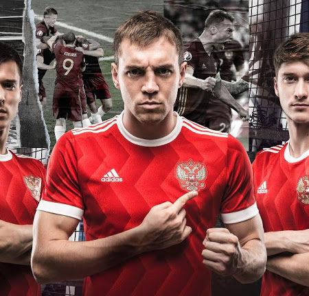 Домашняя форма сборной России 2017