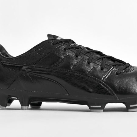 "Черные бутсы Puma evoPOWER 1.3 K ""BLACKOUT"""