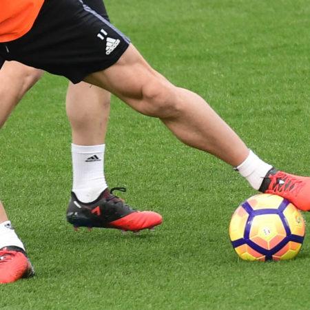 Игроки Мадридского Реала тренируются в Adidas Red Limit