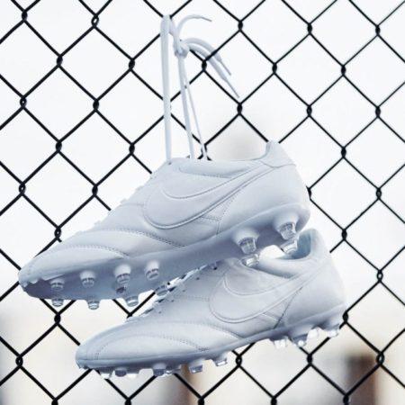 Бутсы Nike Tiempo Premier Triple White