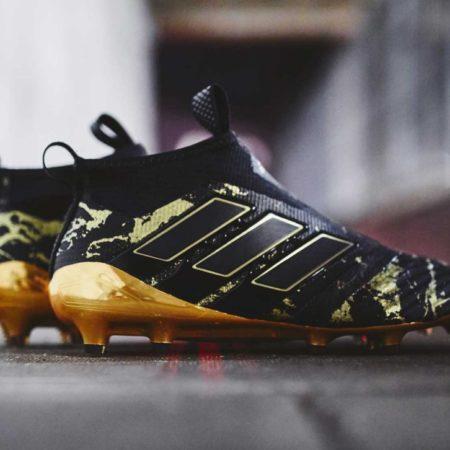 """Именные бутсы Adidas ACE 17+ Purecontrol """"Paul Pogba""""."""