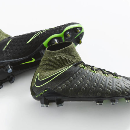 "Бутсы Nike Hypervenom 3 Tech Craft ""Black/Electric Green"""