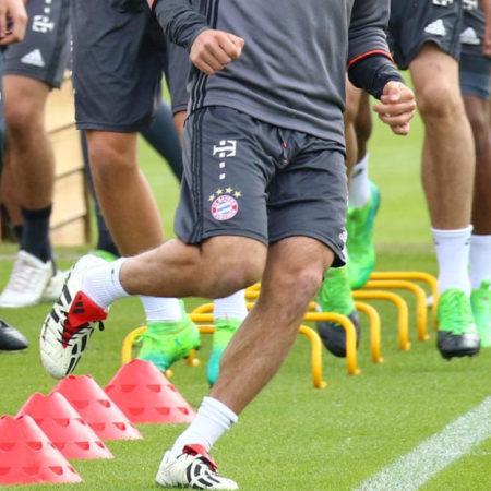 Бавария тренируется в Adidas Predator Mania Champagne