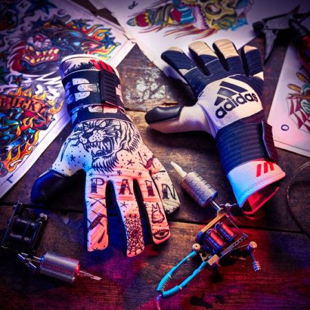 Вратарские перчатки Adidas Ace 2-Face