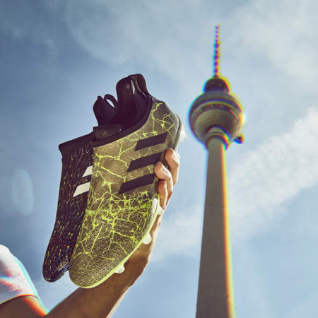 Adidas Glitch в Берлине.