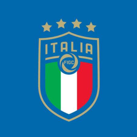 Новый герб сборной Италии