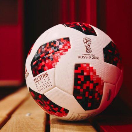 Мяч Adidas Telstar Mechta для плей-офф Чемпионата Мира 2018