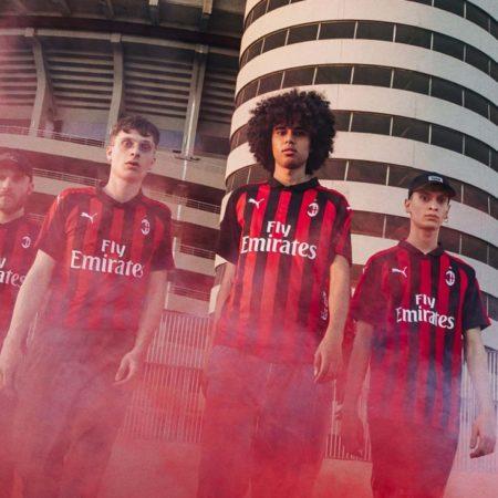 Домашняя форма Милана 2018/19 от Puma