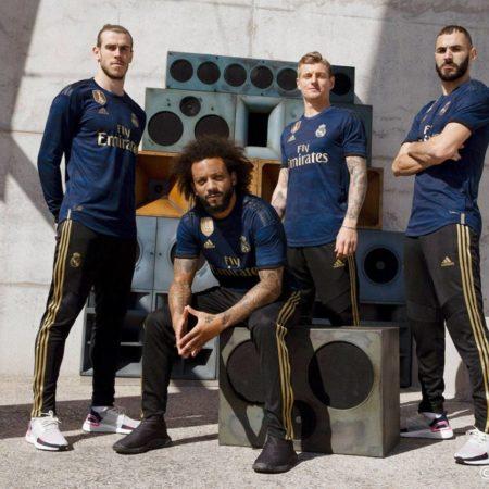 Выездной комплект формы мадридского Реала 2019/20