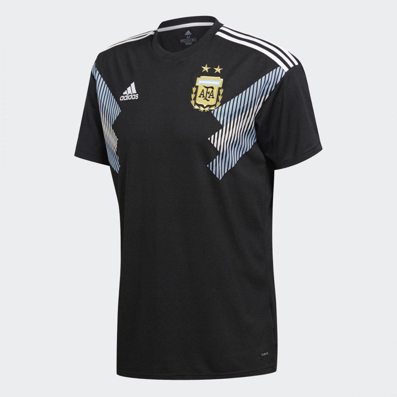 Выездная форма сборной Аргентины