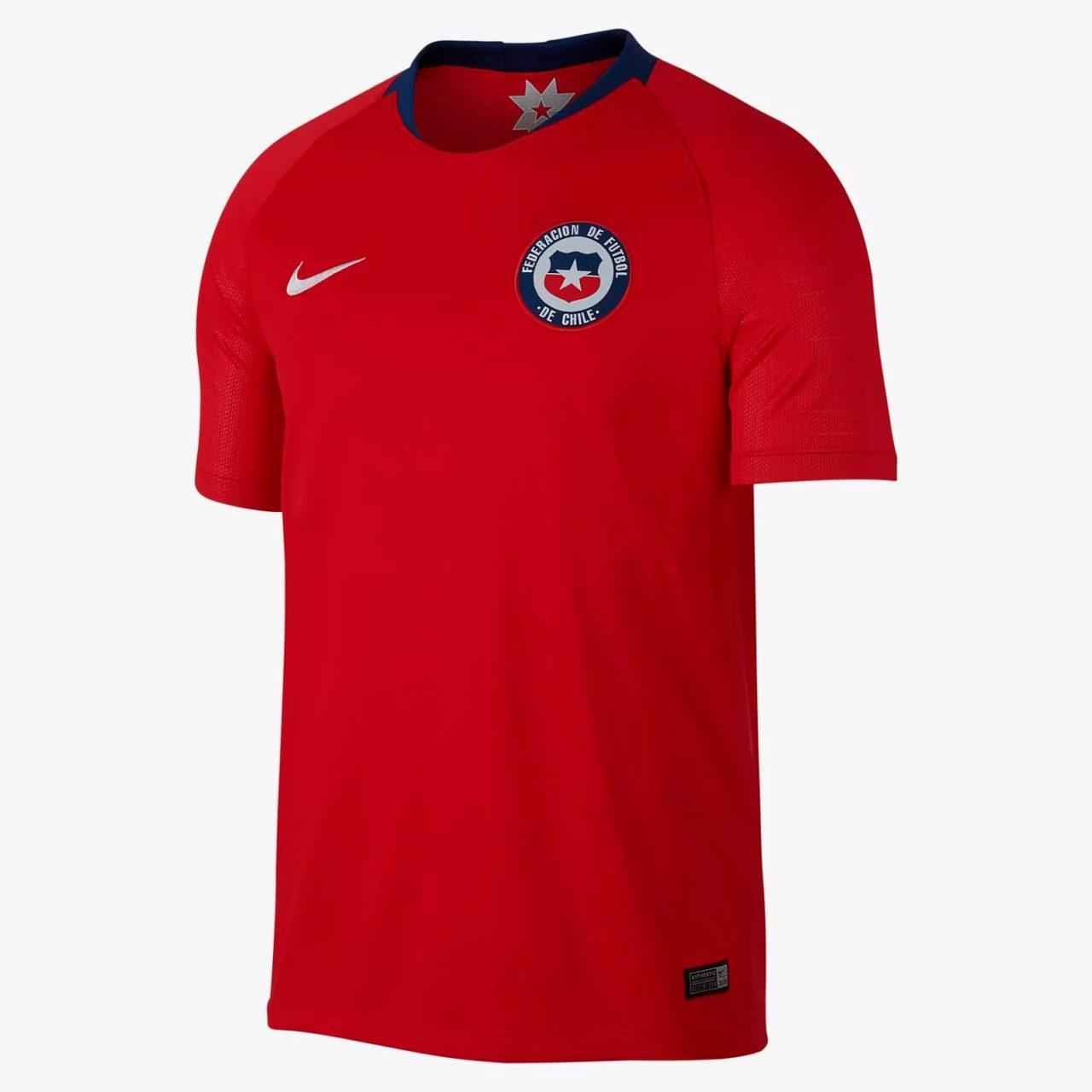 Домашняя форма сборной Чили