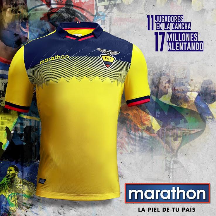 Домашняя форма сборной Эквадора