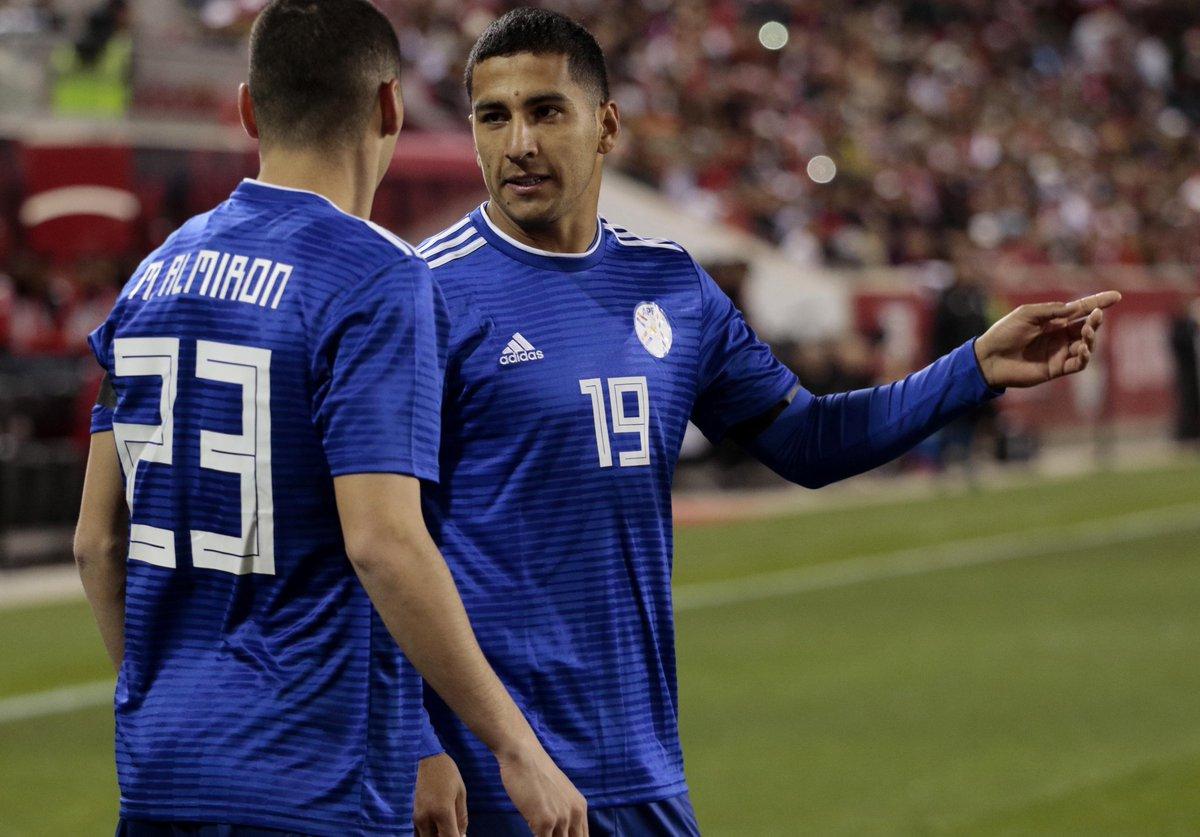 Выездная форма сборной Парагвая