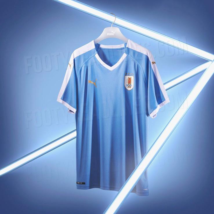 Домашняя форма сборной Уругвая