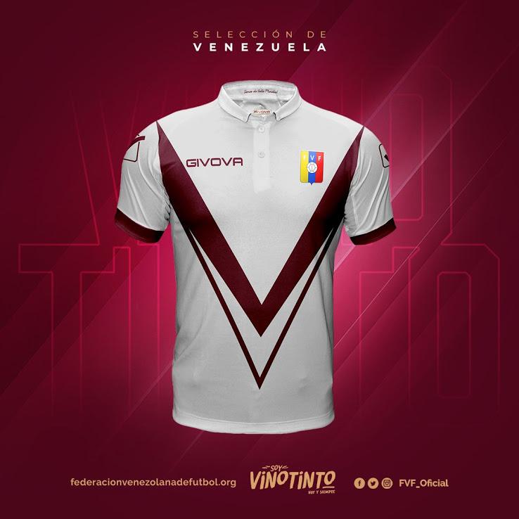 Выездная форма сборной Венесуэлы