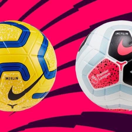 Чем будут играть в АПЛ 19/20, когда выпадет снежок. Официальный зимний мяч Nike Hi-Vis Merlin 19/20 + ремейк